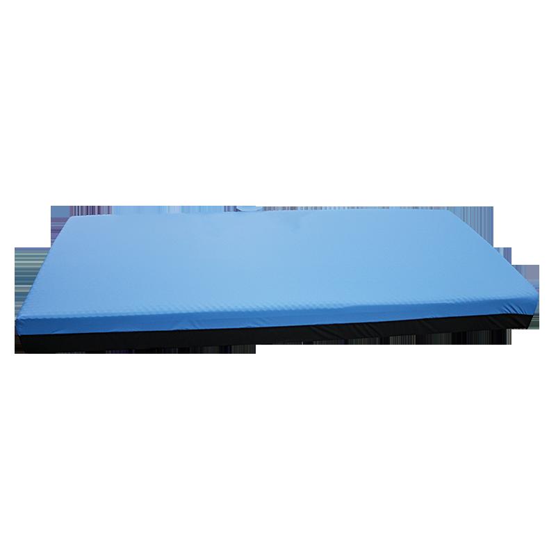 Base 12 cm HR55  Viscoelástico 4 cm 50  CR Capa tela bi-elástica azul  Base tela preta    … View Details