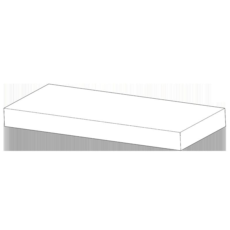 Monobloco de espuma de elevada estabilidade.  FICHA TÉCNICA Descrição: Colchão  Composição: Espuma 33kg m3 na base com 20 cm de altura Ignífugo/ Espuma e Capa Bacteriológico/ Espuma e Capa Anti Ácaros Capa bi-elástica impermeável Bege/Preta Lavagem até… View Details